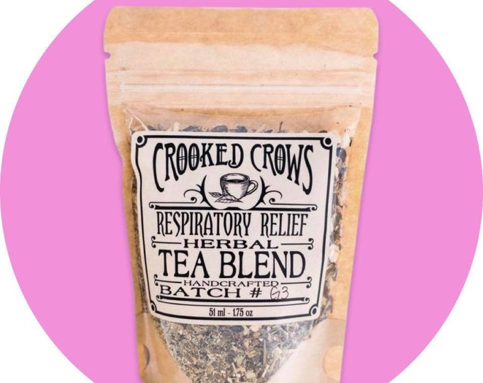Crooked Crows Respiratory Relief Herbal Tea