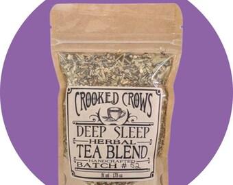 Crooked Crows Deep Sleep Herbal Tea