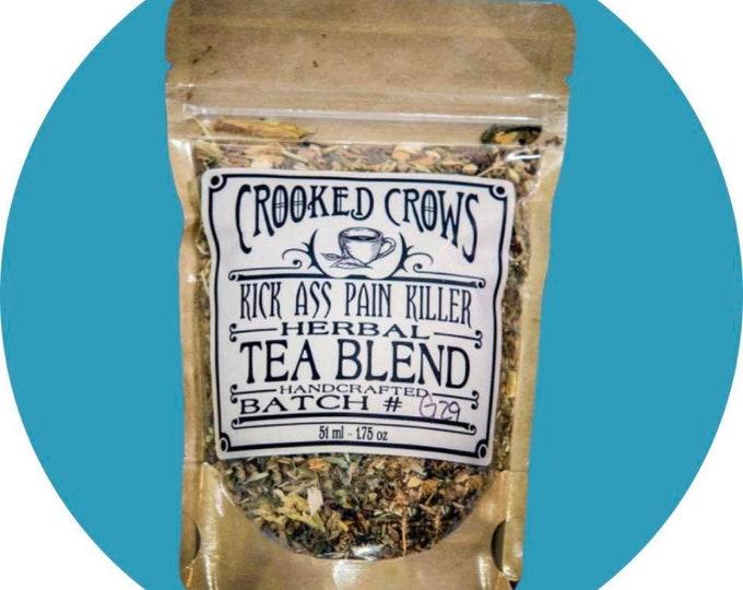 Crooked Crows Kick Ass Pain Killer Herbal Tea