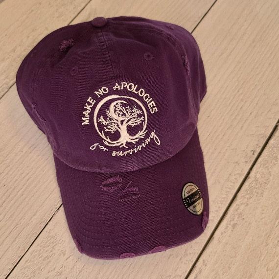 IN STOCK Baseball Cap with Make No Apologies Logo