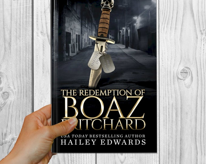 Signed Edition of The Redemption of Boaz Pritchard