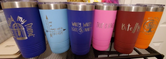 In-Stock 20oz Stainless Steel Tumbler