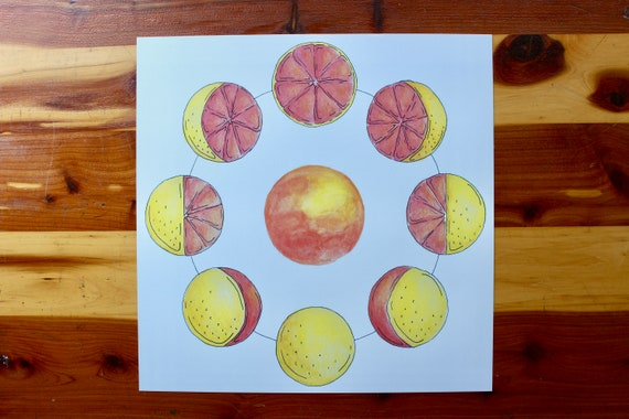 Phases of the [Grapefruit] Moon