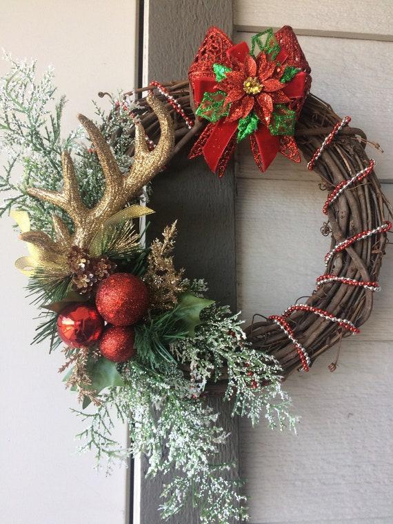 Christmas Decoration Decorated Xmas Wreath 12