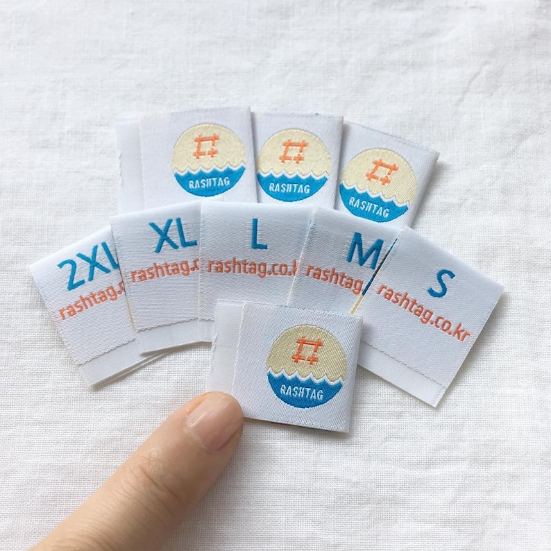 60 cheap woven labels, woven labels center fold, woven labels custom,  clothing labels, woven labels, custom woven clothing labels