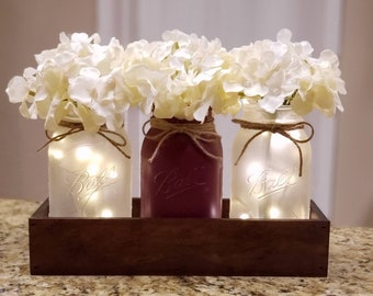 Dining Room Table Centerpiece Etsy