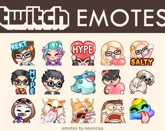 Twitch emote | Etsy