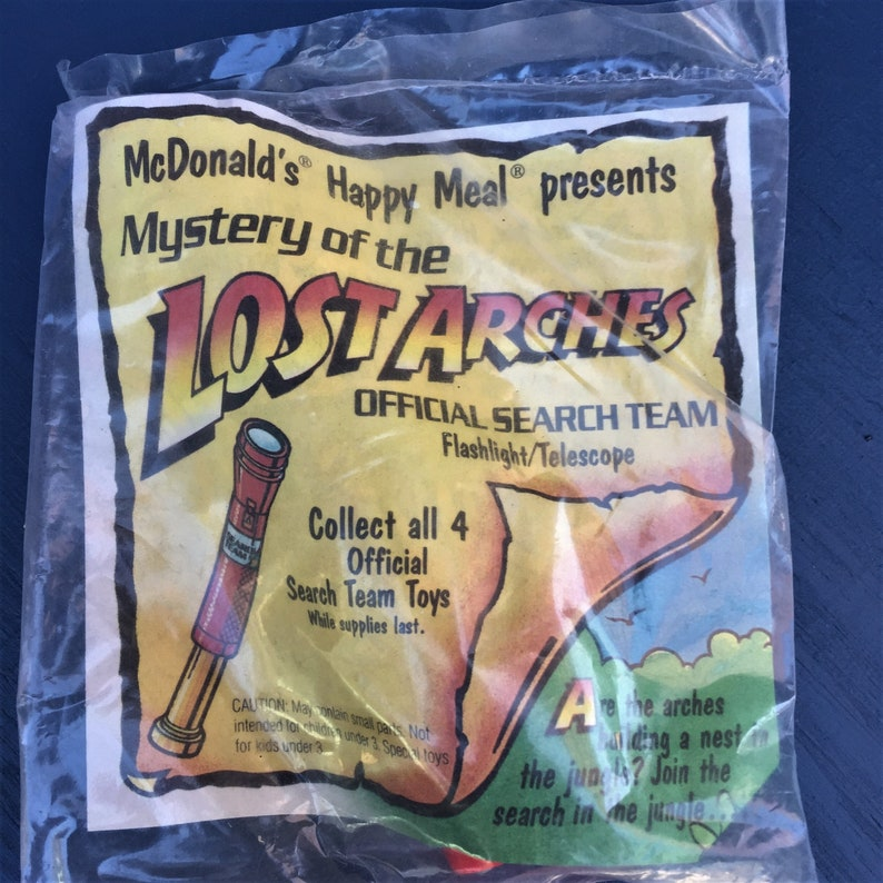Spy Toys Search Team Telescope McDonald/'s Happy Meal Toy