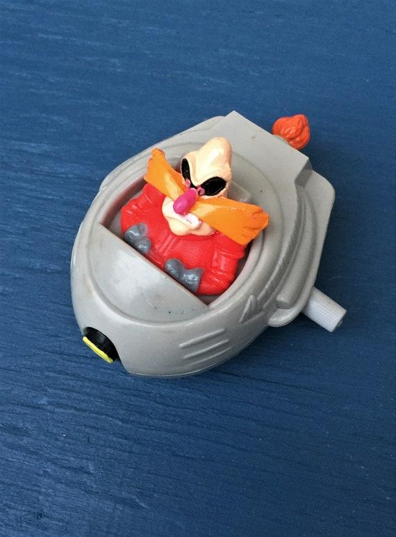 Sonic The Hedgehog Dr Ivo Robotnik Mcdonald S Happy Meal Etsy