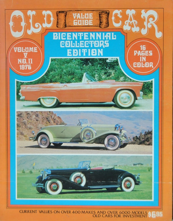 Old Car Values >> Old Car Value Guide Lot Of Three Guides 1974 1976 1979 Vey Rare Highly Collectible