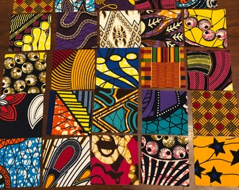 Quilting Squares African, Ankara Prints