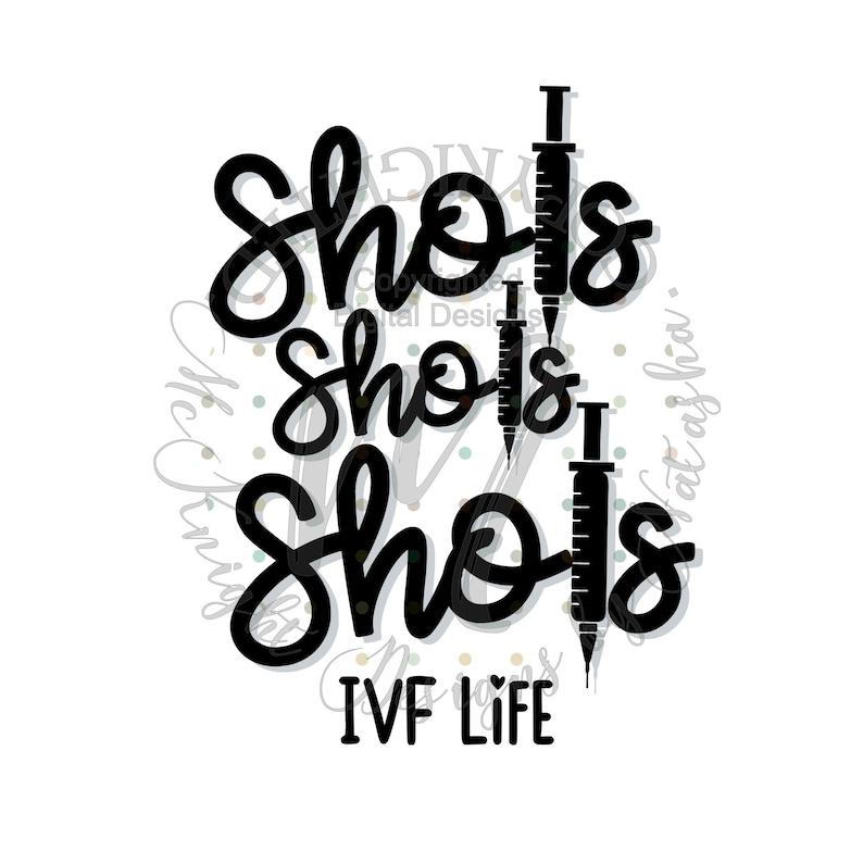 eps Fertility studio3 png multi file pdf jpg { IVF Life Shots } BFP svg Pregnancy DIGITAL Download dxf gsp