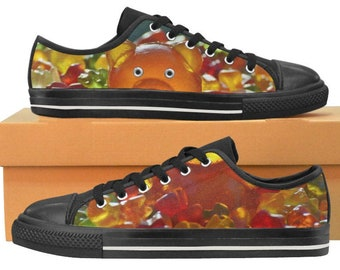 047dc16b409a17 Gummy Bear Gift - Gummy Shoes - Gummy Bears - Gummy Pattern Women Sneakers