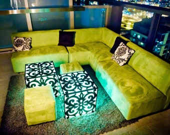 3-Piece L-Shaped Sectional, Modular L-Sectional