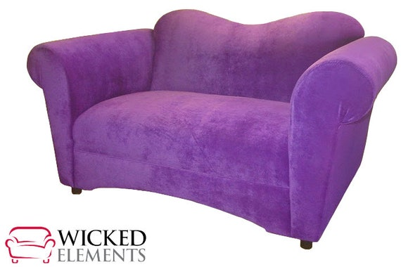 Remarkable Pixie Loveseat Purple Loveseat Purple Couch Gmtry Best Dining Table And Chair Ideas Images Gmtryco
