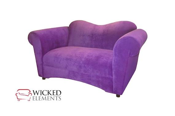 Super Pixie Loveseat Purple Loveseat Purple Couch Bralicious Painted Fabric Chair Ideas Braliciousco