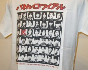 Battle Royale Japan Tournament Film Poster Retro T Shirt 121