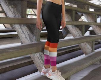 Black lesbians in yoga pants Lesbian Leggings Etsy