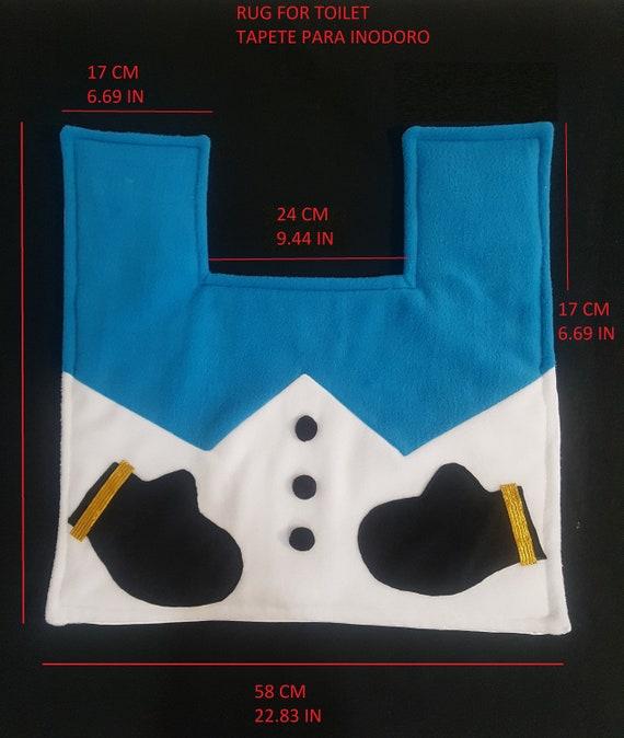 Brilliant Christmas Toilet Seat Cover Blue Snowman 3 Pcs Cjindustries Chair Design For Home Cjindustriesco