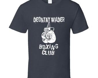 405bf8bdf Deontay Wilder Bronze Bomber Boxing Fan Best Gift T Shirt