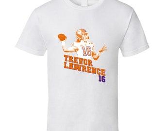 07c44adec Trevor Lawrence Clemson Football Championship T Shirt