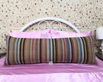 Big Size Pillow 16x48 inches Extra Long Lumbar Kilim Pillow Bedding Lumbar Pillow cover Decorative Pillow Home Decoration pillow cushion