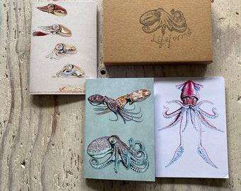 Cephalopods Pocket Notebook Gift Set