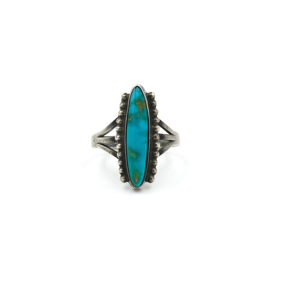 1960s Turquoise Ring // Size 6 // Vintage Turquois