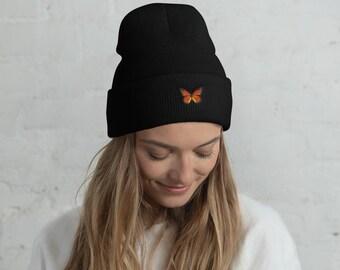 a1731bda66e47 Monarch Butterfly Beanie