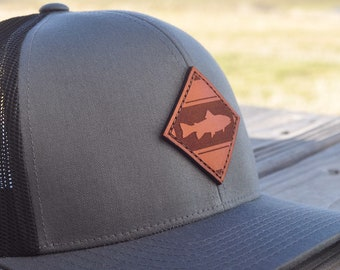 b291d7a6814 Diamond Fly Fishing Hat - Present for Fisherman- Fishing Gift for Men