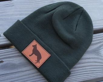 German Shepherd Beanie - GSD Hat- Shepherd Gift- German Shepherd Puppy- German Shepherd mom or dad present