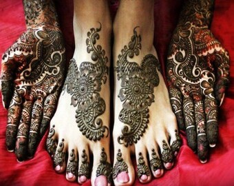 b9d76b0aa Natural Henna Kaveri Temporary Tattoo Mehandi Herbal Cone Rajasthani Paste Body  Art Kit Bridal Party Extra Dark ships from USA