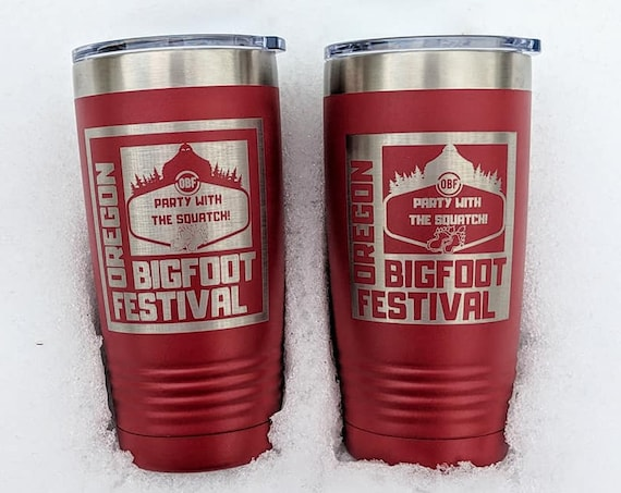 Oregon Bigfoot Festival Tumblers! 20oz Polar Camel Cups