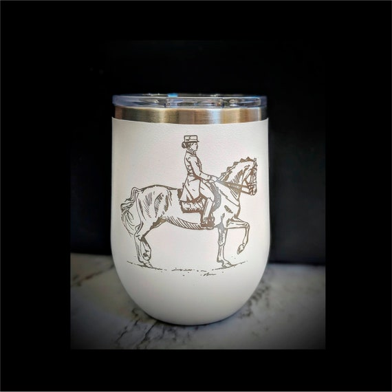 Dressage Wine Cup! 12oz Polar Camel Wine Tumbler