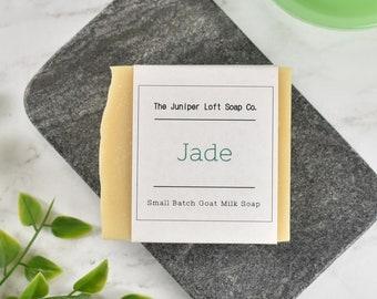 Jade Goat Milk Soap