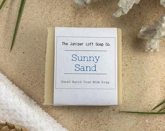 Sunny Sand Goat Milk Soap