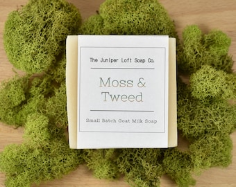 Moss and Tweed Goat Milk Soap