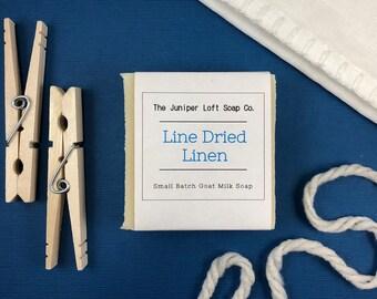 Line Dried Linen Goat Milk Soap