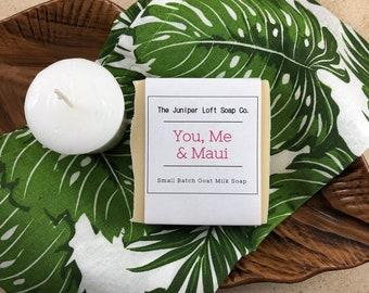 You, Me & Maui Goat Milk Soap
