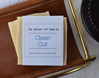 Clean Cut Goat Milk Soap - Handmade, Small Batch