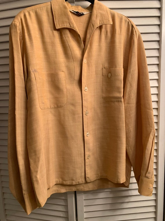 1950's Vintage Mens Sportsman Shirt size M