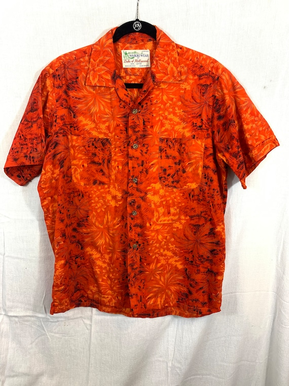 Vintage 1950's Duke of Hollywood Hawaiian shirt