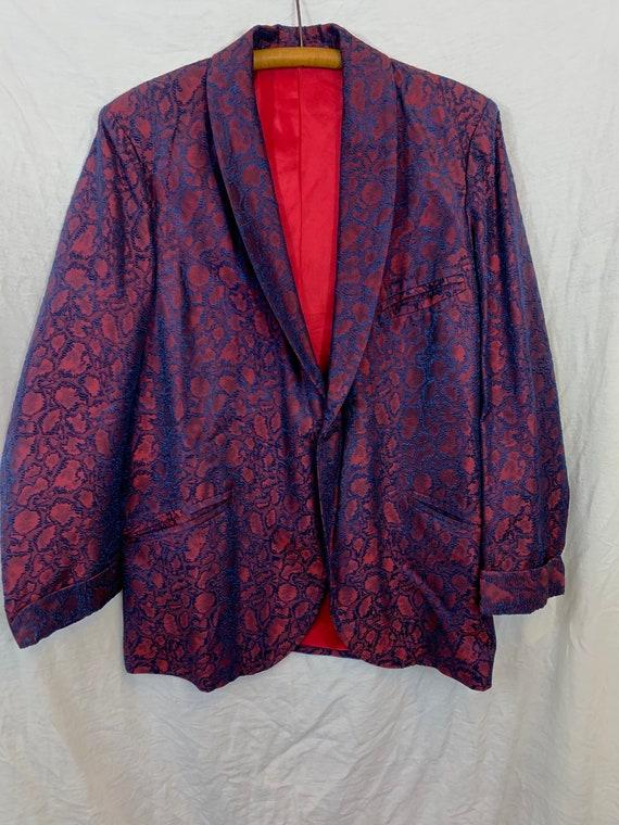 1960's Handmade Tuxedo/ Smoking Stage Jacket