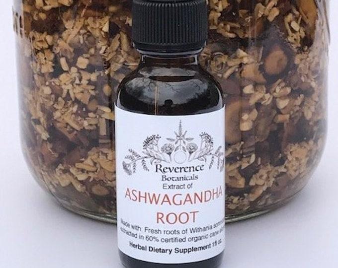 Fresh Ashwagandha Root tincture, Withania somnifera, Indian ginseng