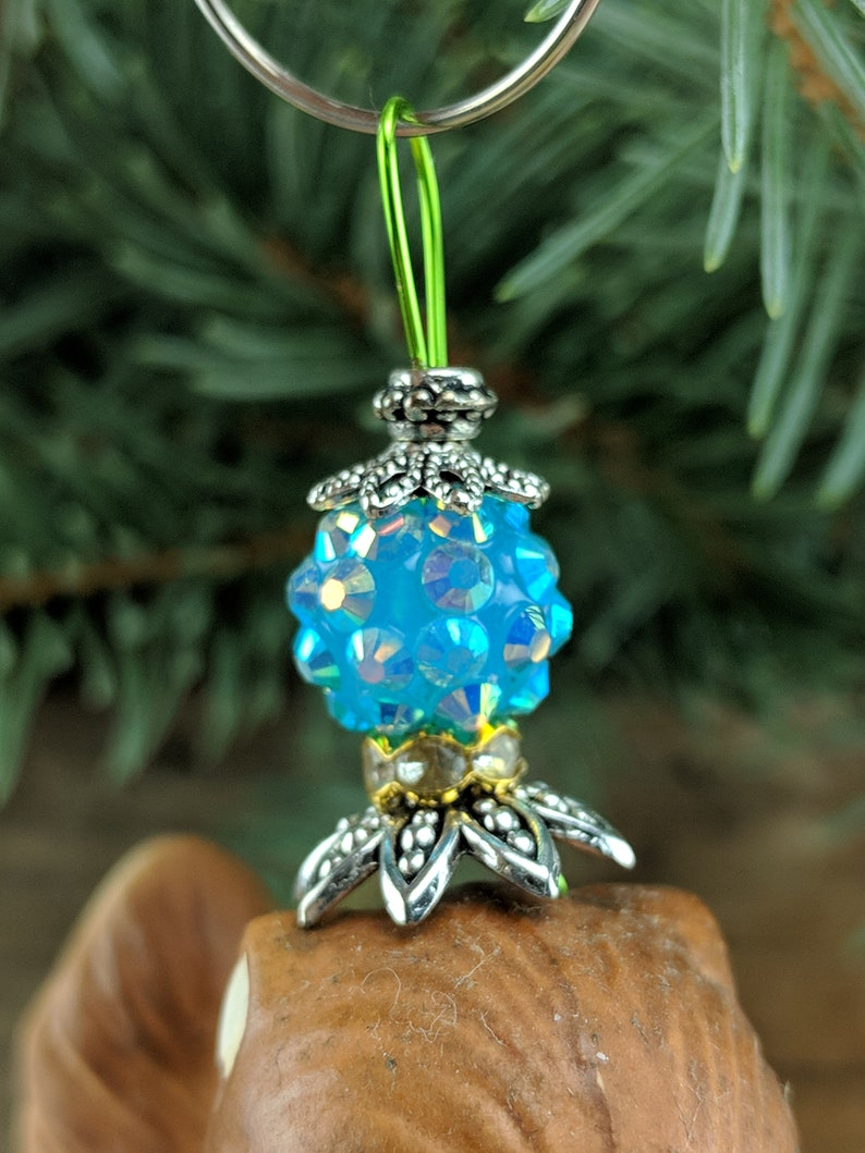 Vintage Squirrel Salt or Pepper Shaker Christmas Tree Ornament