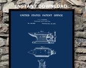 1877 Anvil Vise Combo Patent Print Instant Download-Anvil Vise Print Blacksmith Steel Worker Art Print-Games Room Art-Man Cave Blacksmith