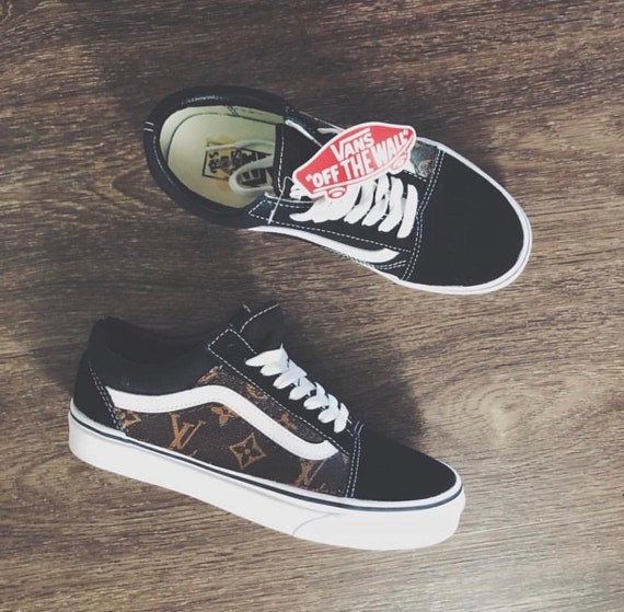 62ead94b9b Custom Louis vuitton vans