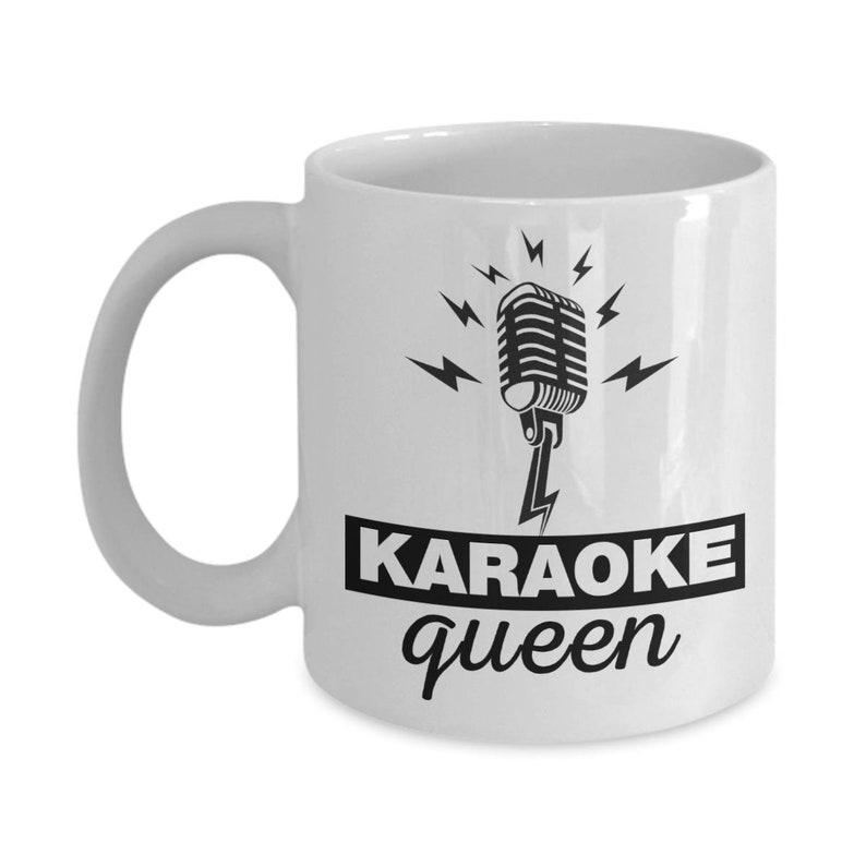 QueenMugs Mugkaraoke QueenSinger SingerSinging MugGiftMicrophone Coffee For MusicGift Karaoke sQtdrh
