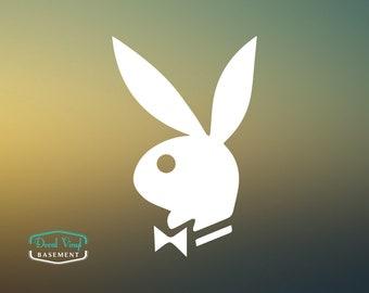 Playboy Playmate Bunny Vinyl Die-Cut Laptop Wall Phone Car Decal Sticker bc0c9f4c1