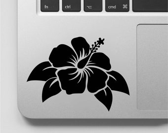 68f5f3b070d55f Hibiscus Flower Decal Free Shipping Hibiscus Flower Sticker